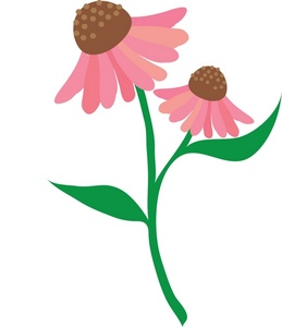 Pink Rose clipart stalk With Download Clipart Free Stem