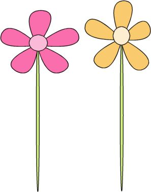 Yellow Flower clipart printable Size 95 Spring best Art
