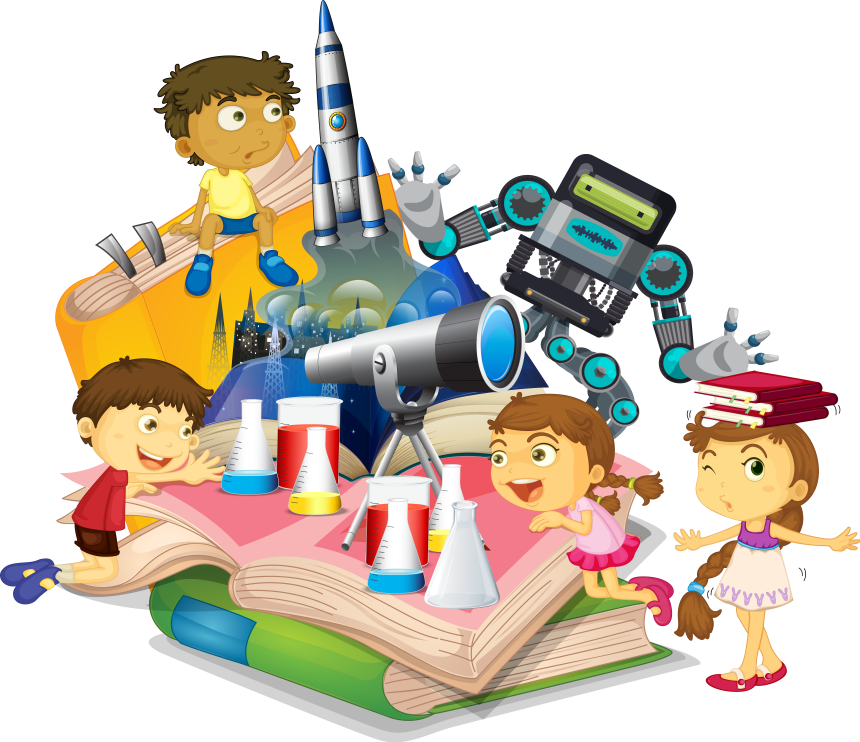 Stem clipart kid Whiz explore for and STEM