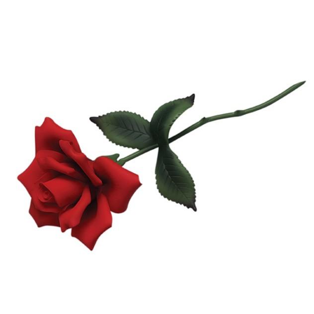 Rose clipart long stem rose #9