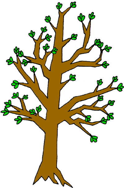 Branch clipart tree log A World Art Plants Perfect