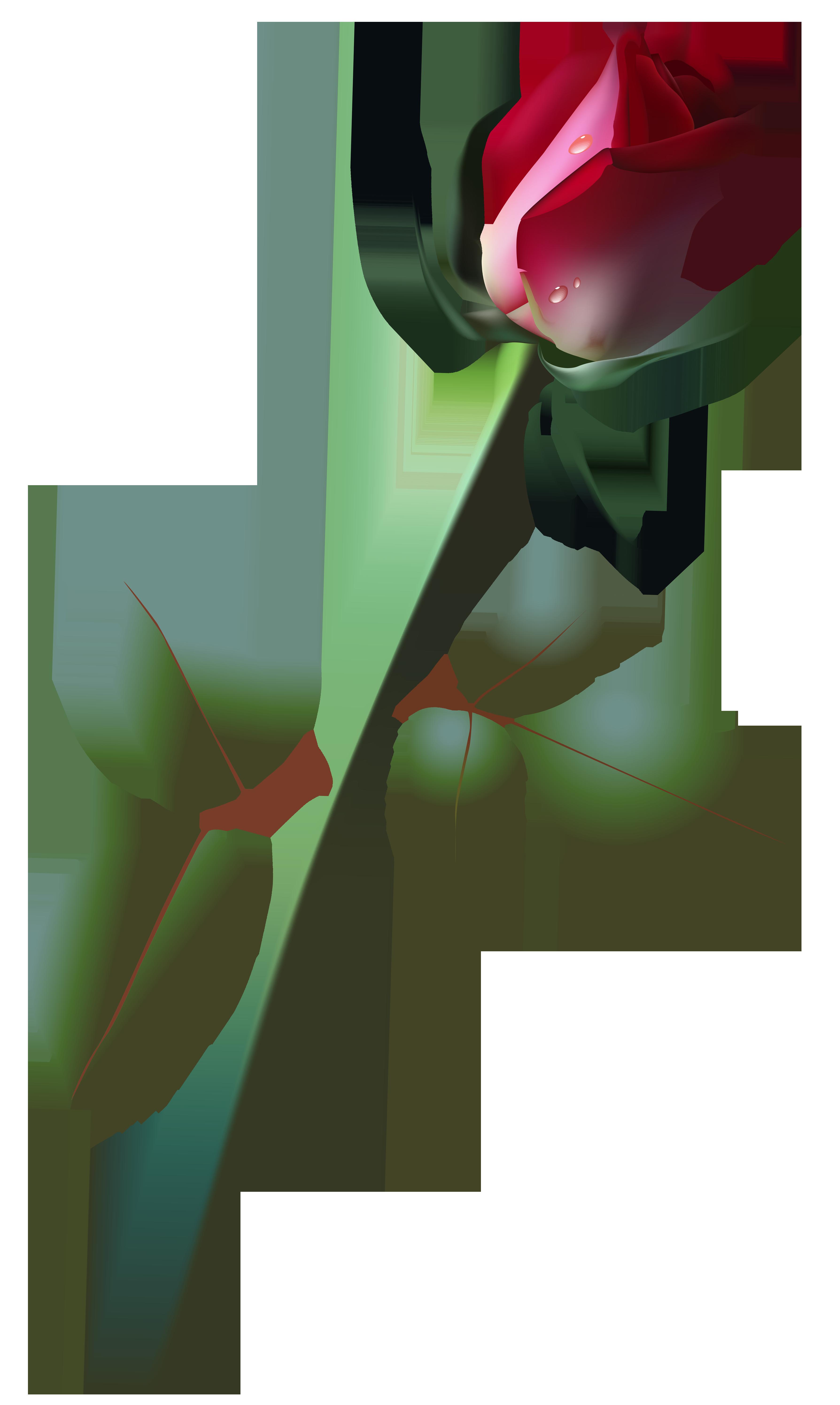 Beautiful clipart rose plant PNG Art Beautiful Yopriceville Bud