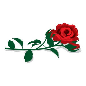 Cartoon clipart rose Simple Download rose clipart Clipart