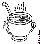 Stew clipart black and white Kettle Clipart Stew Kettle Download