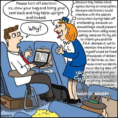 Steward clipart airplane seat Comics from Attendant funny cartoon