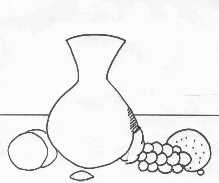 Still Life clipart Design: kb) teaching (jpg Drawing