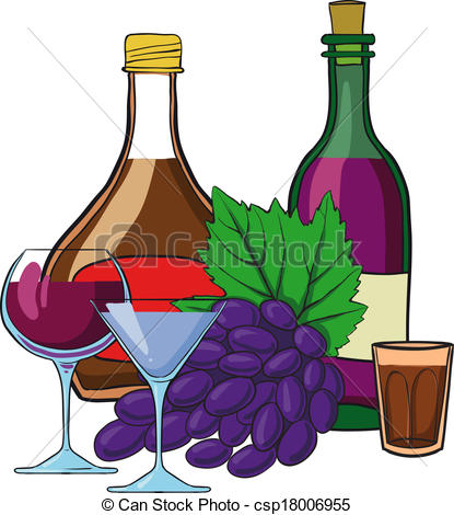 Still Life clipart Vector Clip wine of frame
