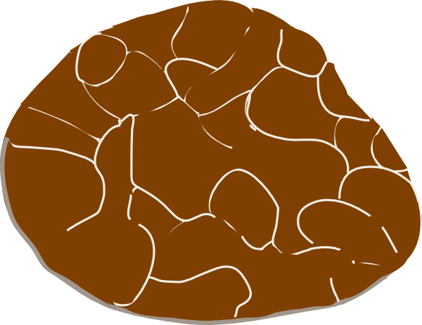Stone clipart vector #3