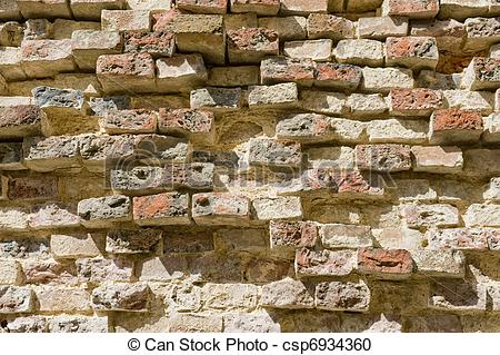 Stone Wall clipart antique Stock Old Antique  brick