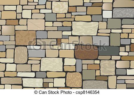 Stone Wall clipart art stone Stone vector wall  wall