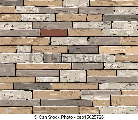 Stone Wall clipart art stone Wall csp15025726 wall Stone Clipart