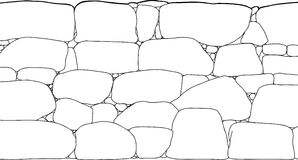 Rock clipart outline #7