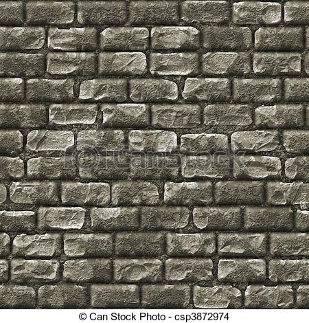 Stone Wall clipart brick wall background Seamless Stone Background as Stock