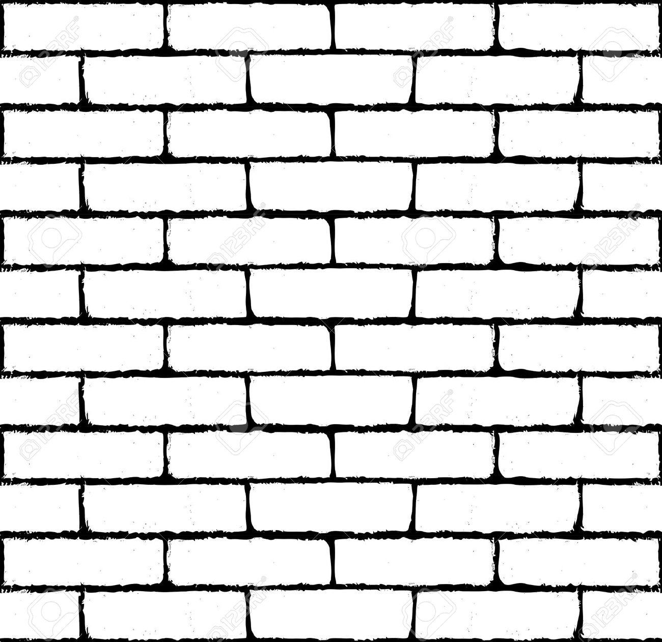 Black clipart brick wall Wall wall clipart silhouette Stone