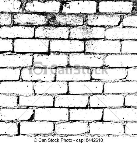Black clipart brick wall Texture White Brick Brick Vector