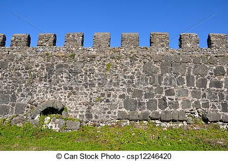 Stone Wall clipart fortress Of Gonio wall Fortress Fortress