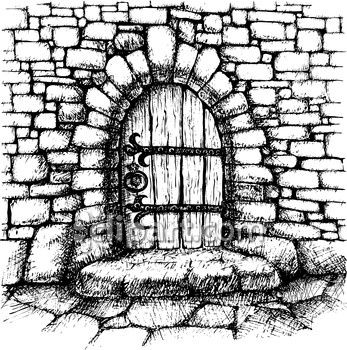 Castle clipart doorway Threshold wall house Demo Clipart