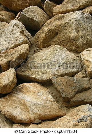 Stone Wall clipart rock pile Pile Stock rock csp0341304