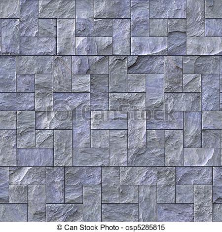 Cobblestone clipart wall texture Slate Seamless Illustrations Texture csp5285815