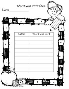 Stone Wall clipart word wall Activities Wall Linky Laughter: Word