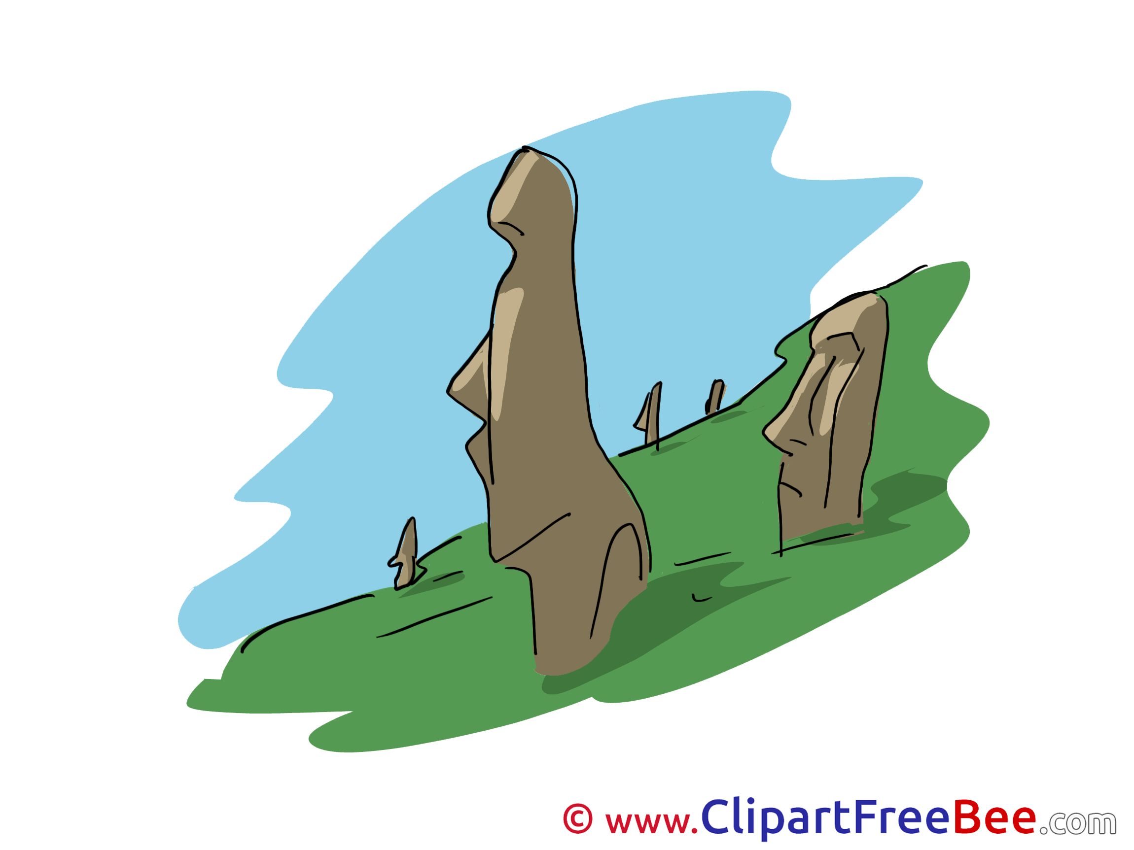Stonehenge clipart cartoon Stonehenge free for download