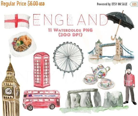 Stonehenge clipart europe DaintyDollArt 50% Etsy Clipart Travel