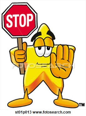 Stop clipart Star Stop Clipart