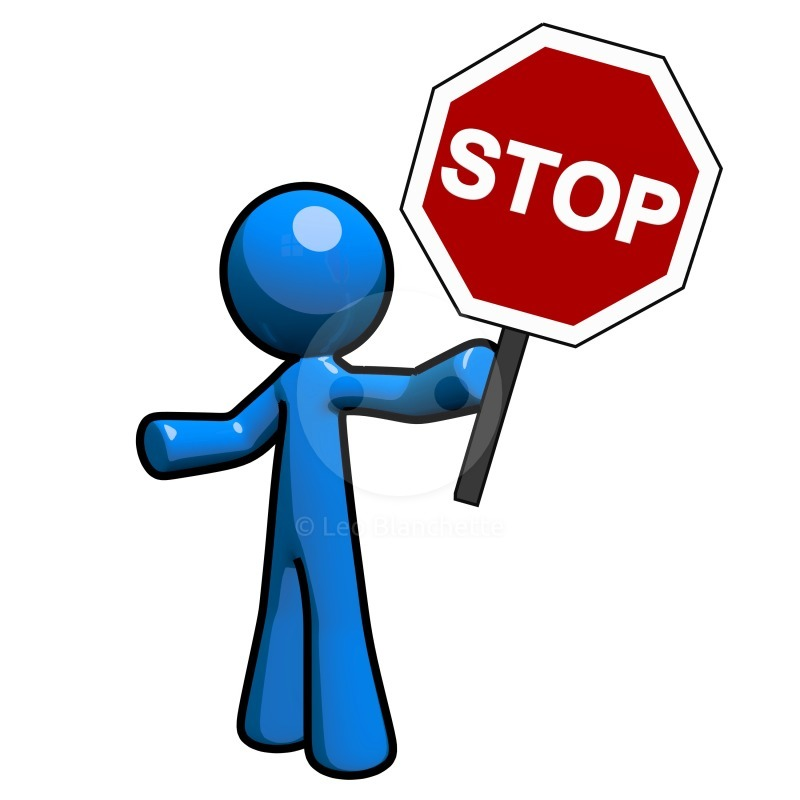 Stop clipart #14