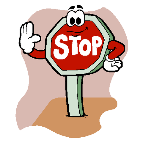Stop clipart Sign Art Clipartner signs Stop