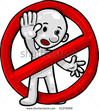Stop clipart do not Stand in%20clipart Clipart Panda Free