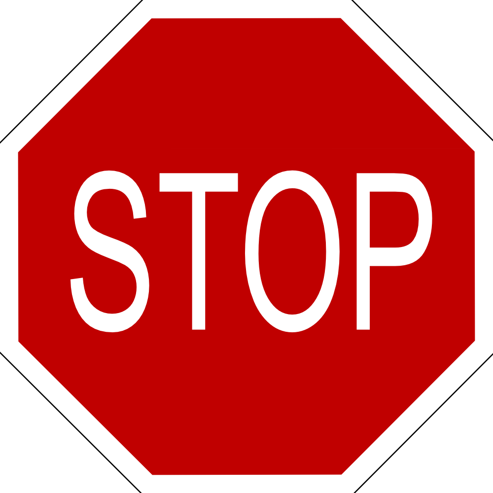 Stop clipart do not On Enter Clipart  Not