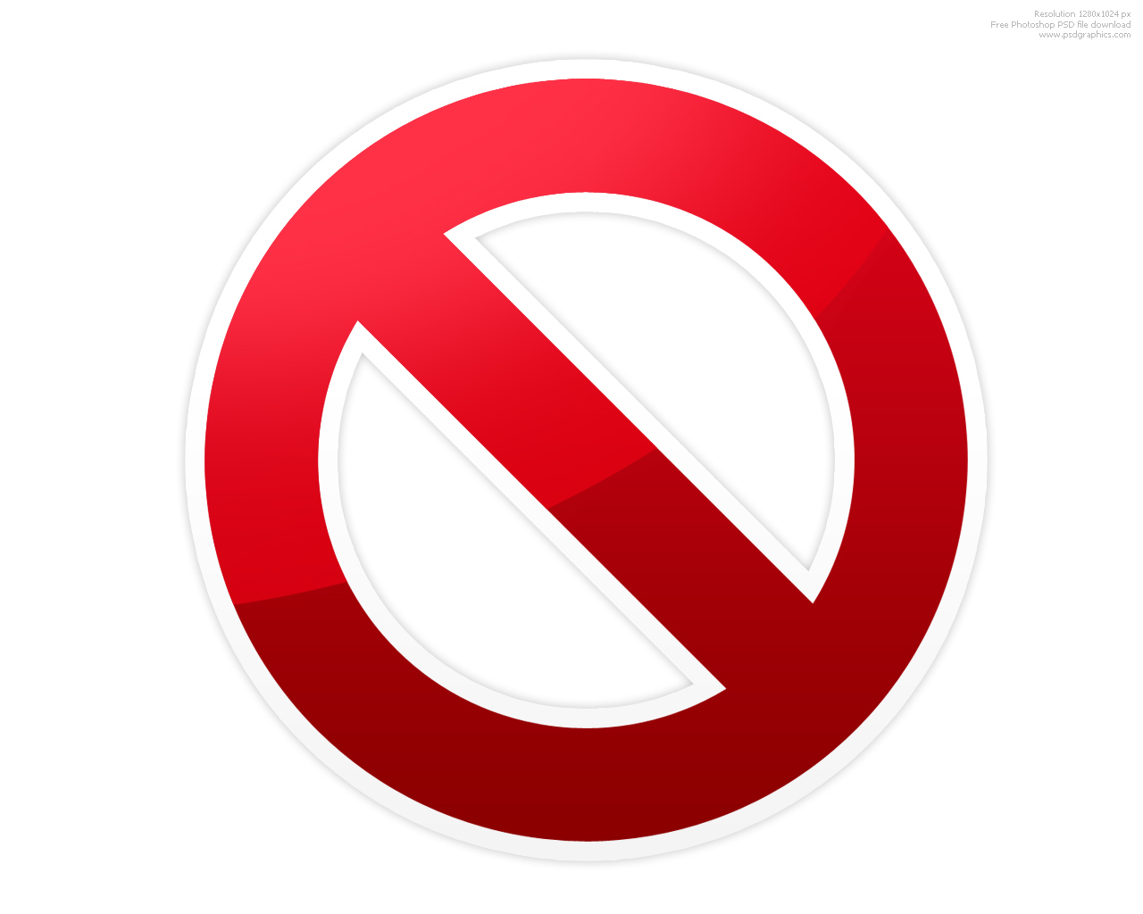Stop clipart do not And Stop Symbol Psdgraphics Signs