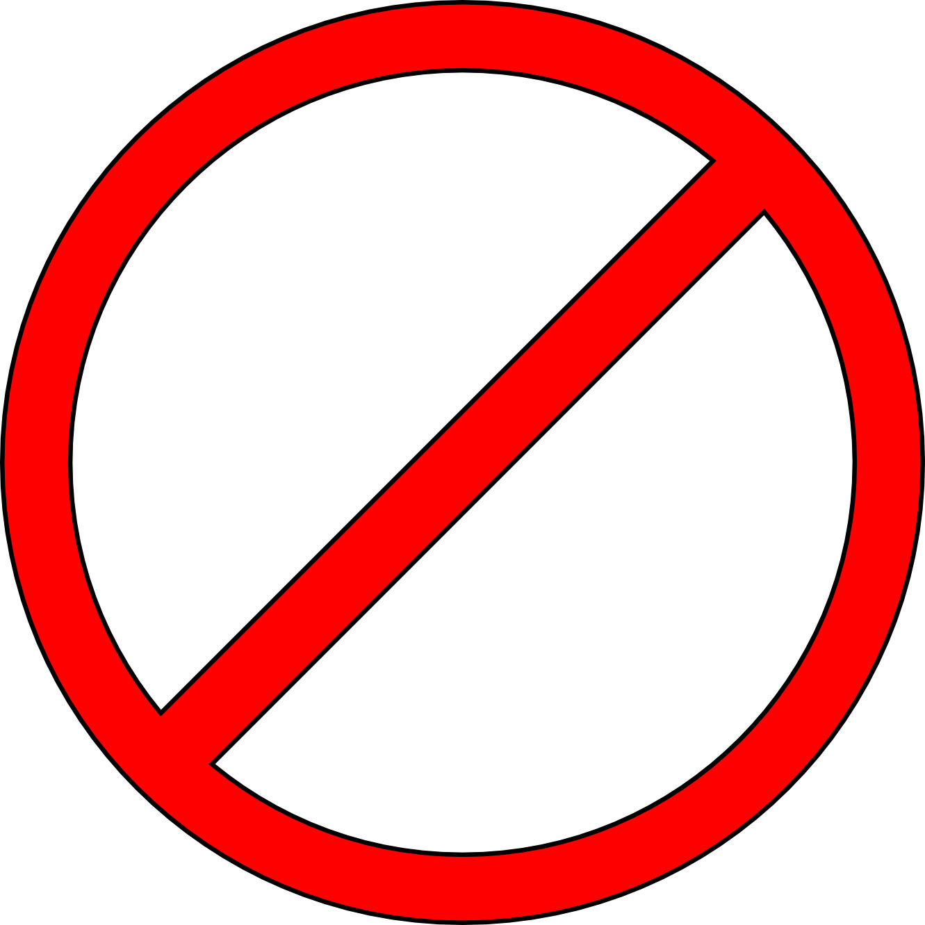 Stop clipart do not Icon Png:Warning #20458 Free Icons