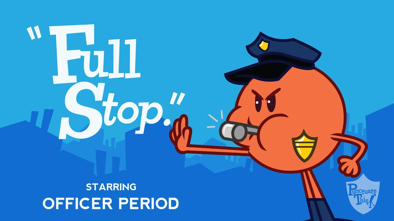 Stop clipart full stop  Period
