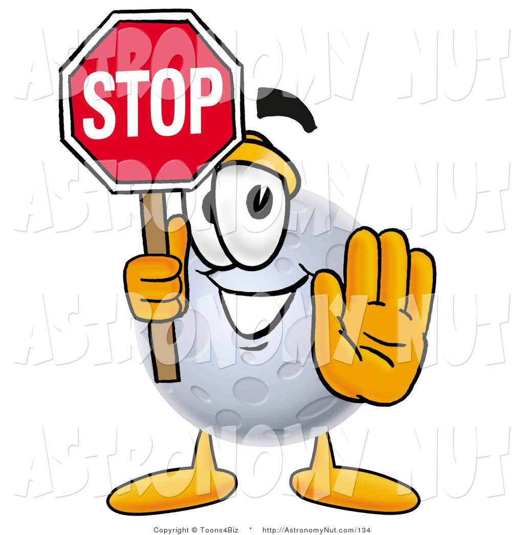Stop clipart full stop Cartoon Stock Signs Designs a
