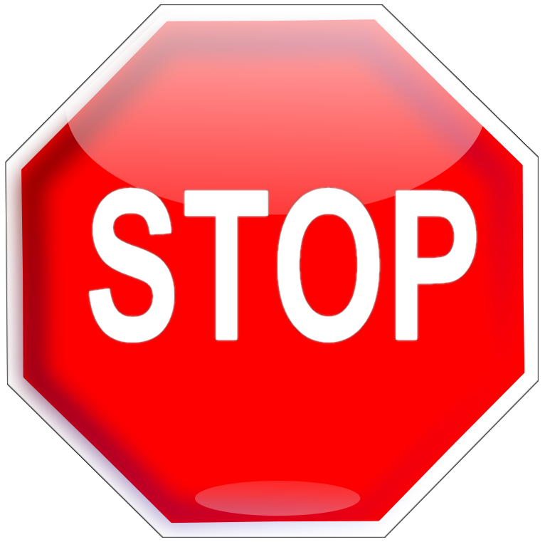 Stop clipart full stop Page page  html png