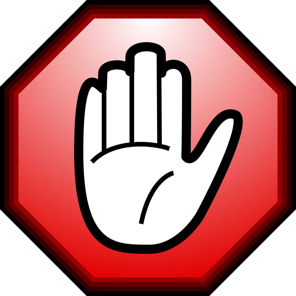 Stop clipart hand Encyclopedia Library Clipart Free hand