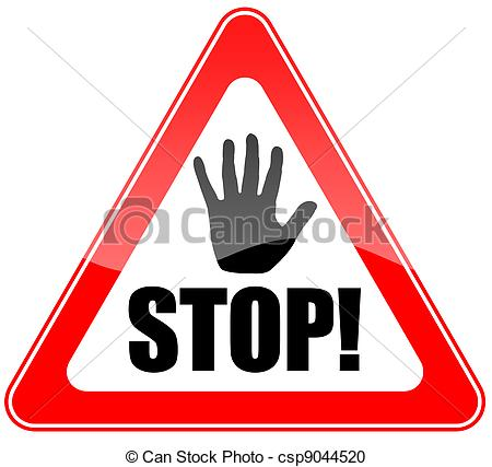 Stop clipart hand Stop Sign Clip Hand Art
