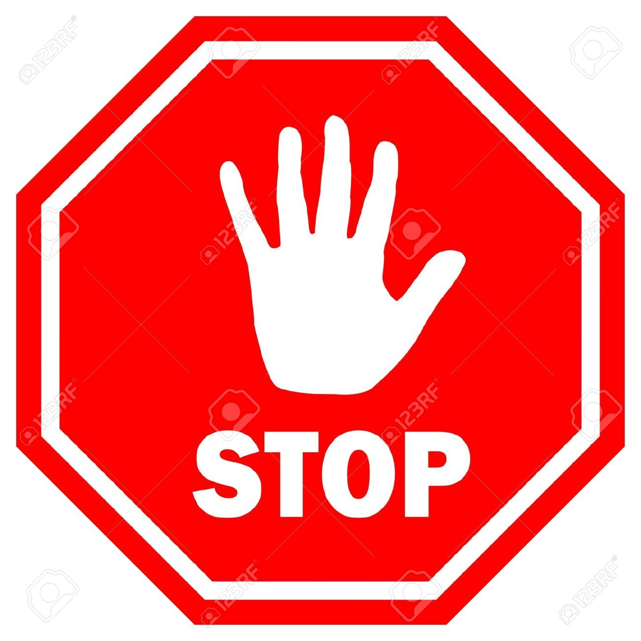 Stop clipart hand Hand #2513 Sign Clipart Hand