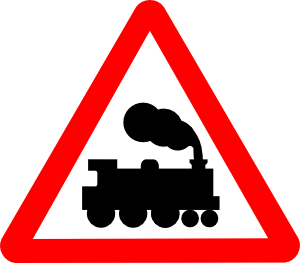 Stop clipart railroad Clker Train Clip Clip Signs