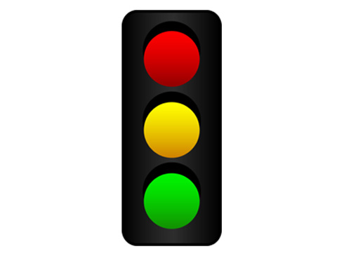 Traffic clipart ligth On Stop Signal Road Art