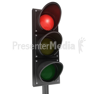 3D clipart traffic light Stop Red Red Clipart Signs