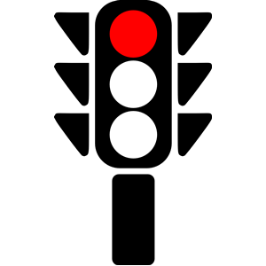 Traffic Light clipart red 4 clipart Red stop light
