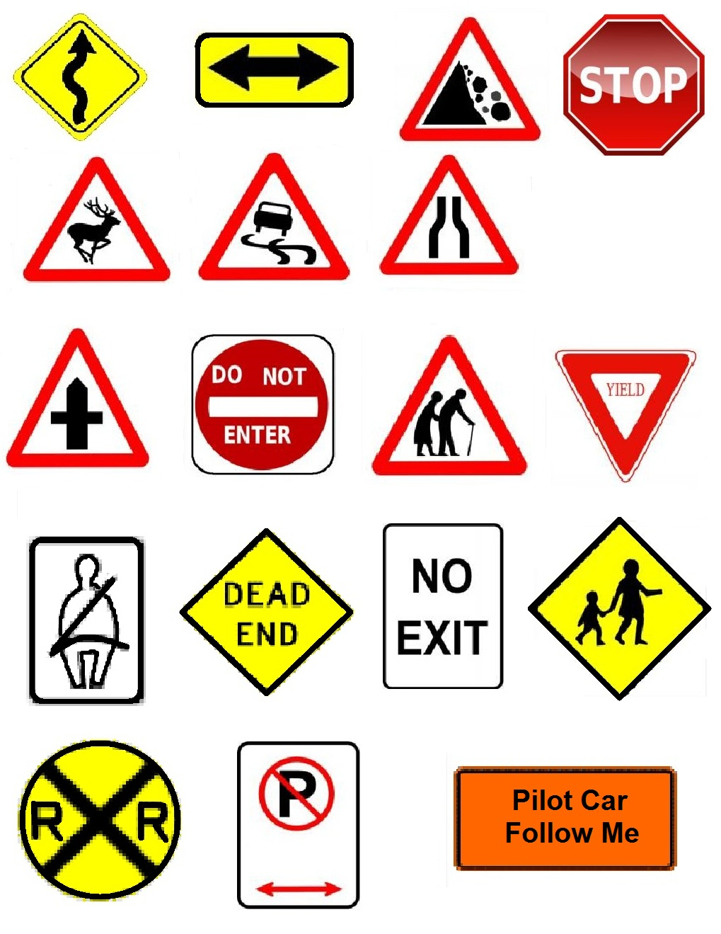Traffic clipart signboard Free For Sign Clip