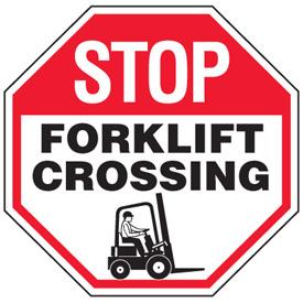 Stop clipart safety sign Safety Forklift Crossing Forklift Forklift