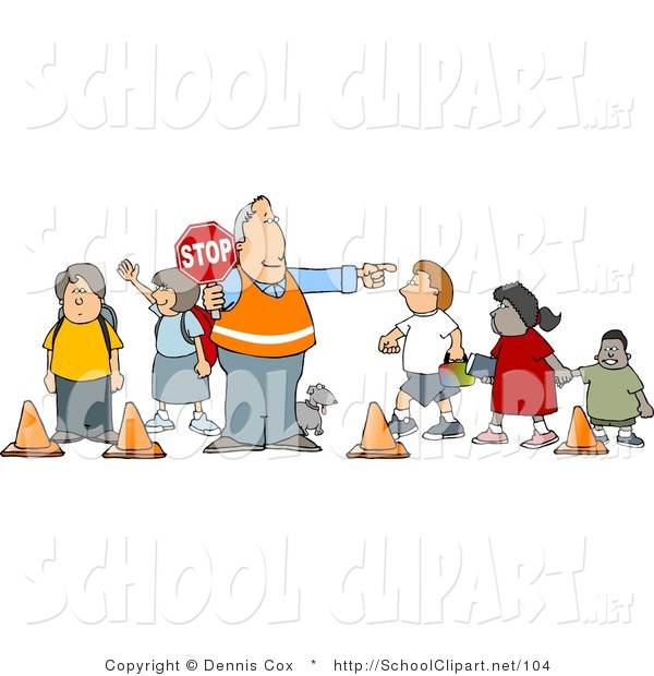 Stop clipart school guard Stop Directing Holding Man a