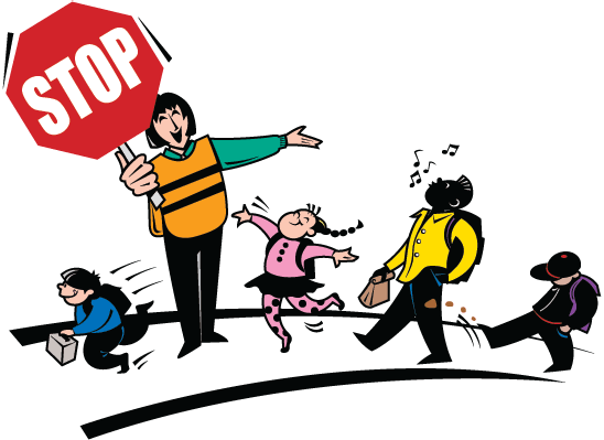 Stop clipart school guard Bus and The training School