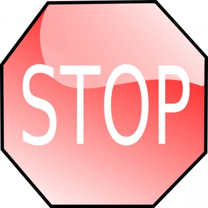Stop clipart signage Clip clipartcow art Stop signs