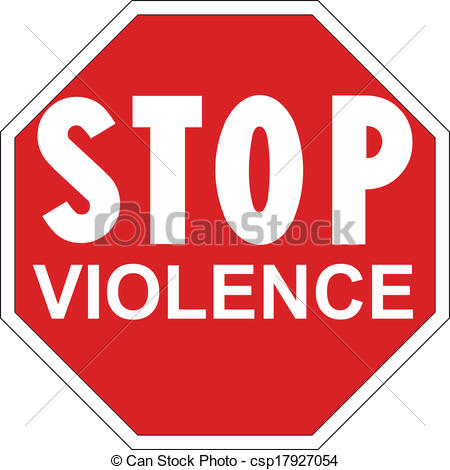 Stop clipart signage The  Violence of Signage