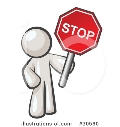 Stop clipart signage Clipart stop vector image leo